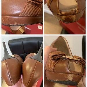 Salvatore Ferragamo Shoes - Authentic Salvatore Ferragamo Open Tote High Heel